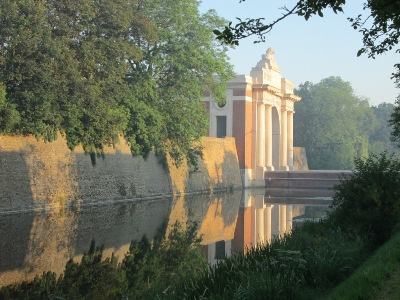 Early morning at the Menin Gate, Ypres