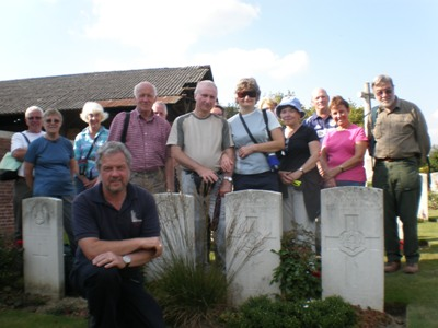 A walk on the Messines Ridge and a soldiers story is told